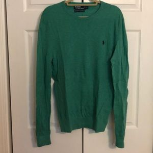 Men's Polo Cotton Sweater